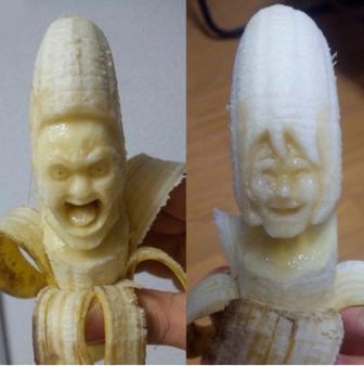 Карвинг банан