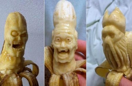 Карвинг из банана