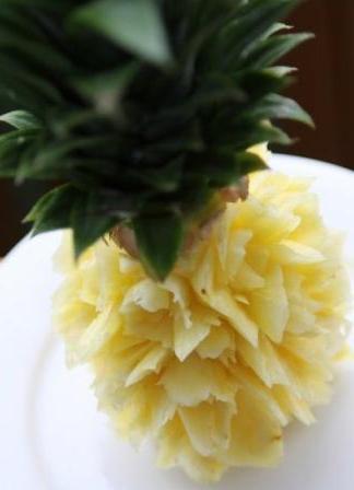 Карвинг из ананаса