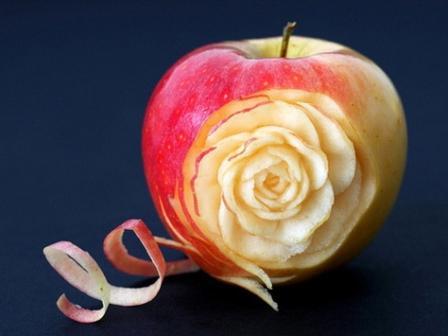 Карвинг яблоко