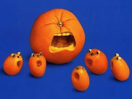 Карвинг из апельсина фото